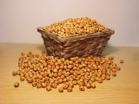 Roasted Yellow Chickpeas